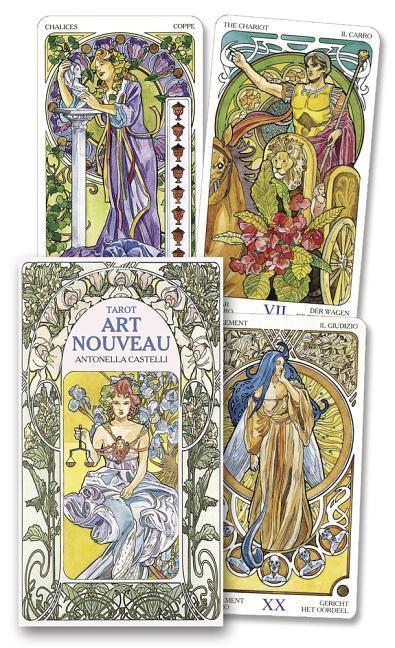Tarot Art Nouveau Deck als Taschenbuch
