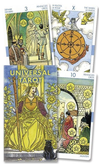 Universal Tarot Deck als Taschenbuch