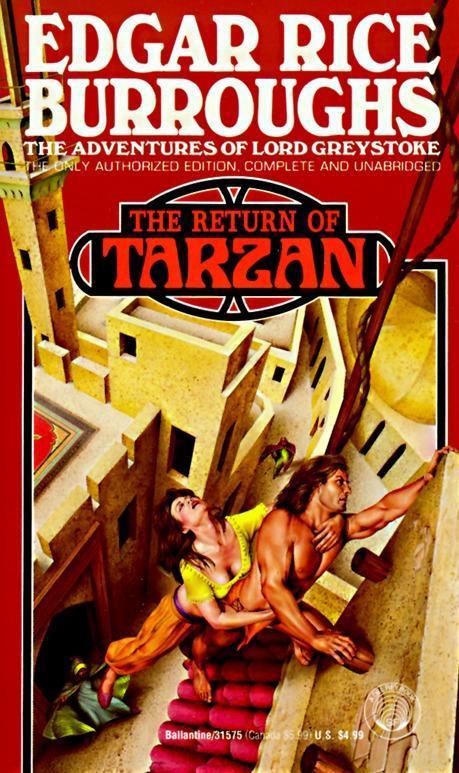 Return of Tarzan als Taschenbuch