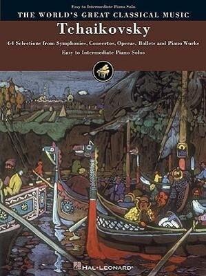 Tchaikovsky: Simplified Piano Solo als Taschenbuch
