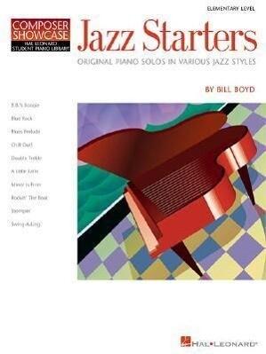 Jazz Starters: Elementary Level Composer Showcase als Taschenbuch