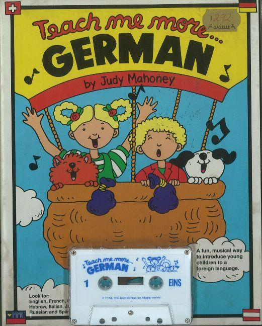 Teach Me More... German: Cassette als Buch