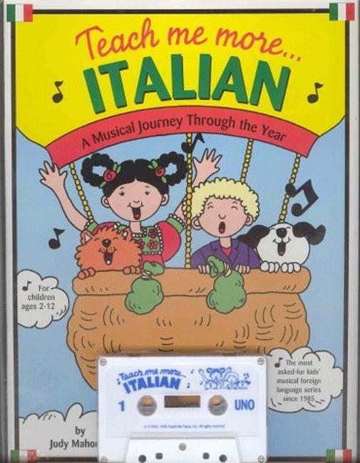 Teach Me More... Italian: Cassette als Buch