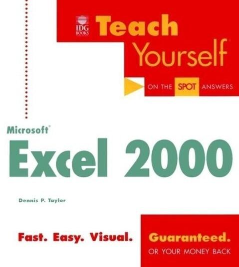 Teach Yourself Microsoft Excel 2000 als Taschenbuch