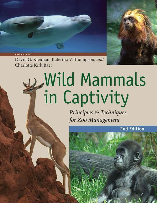 Wild Mammals in Captivity als Buch von Devra G. Kleiman, Katerina V. Thompson, Charlotte Kirk Baer