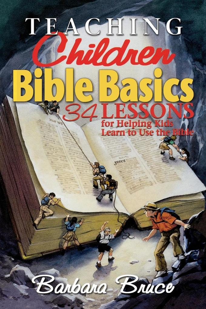 Teaching Children Bible Basics als Buch