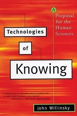 Technologies of Knowing: A Proposal for the Human Sciences als Taschenbuch