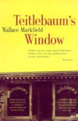 Teitlebaum's Window als Taschenbuch