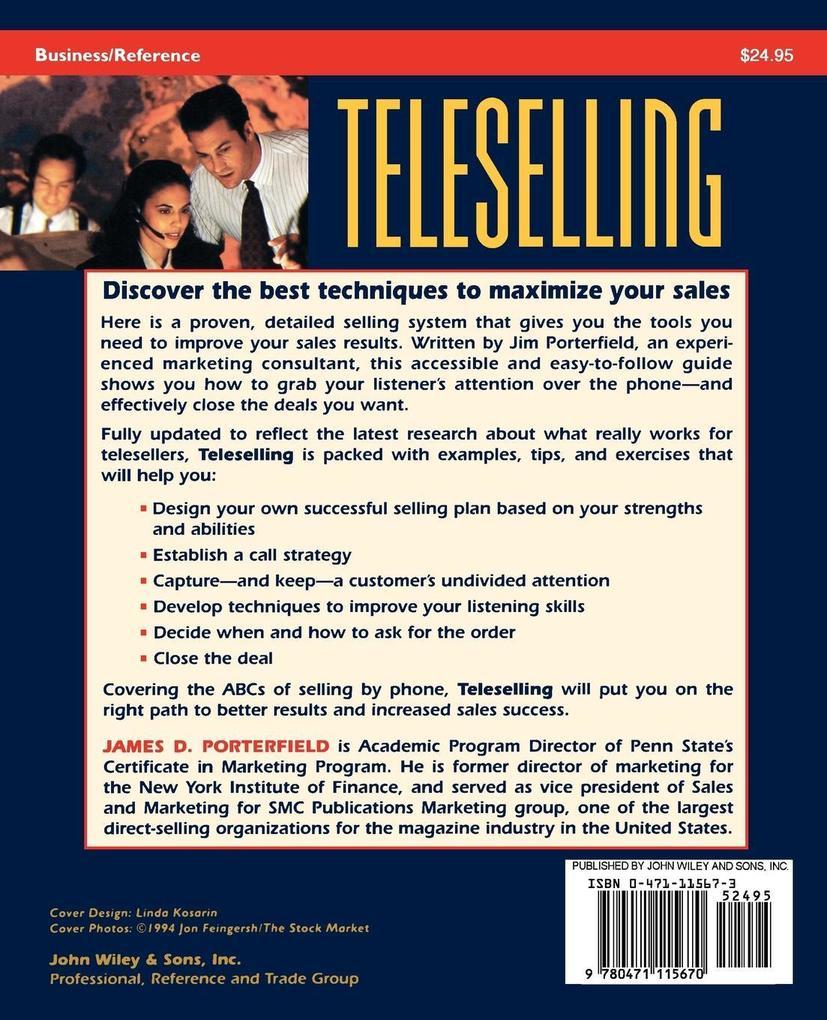 Teleselling als Taschenbuch