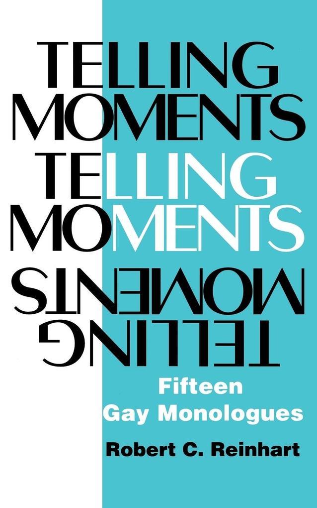 Telling Moments als Taschenbuch