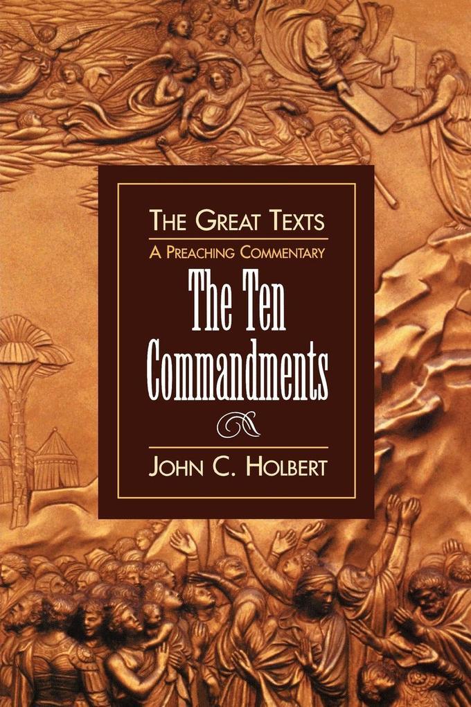 Ten Commandments als Taschenbuch