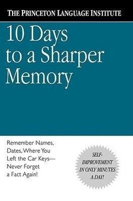 10 Days to a Sharper Memory als Taschenbuch