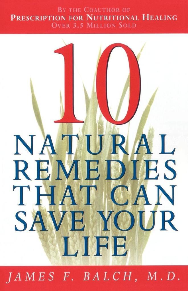 Ten Natural Remedies als Taschenbuch