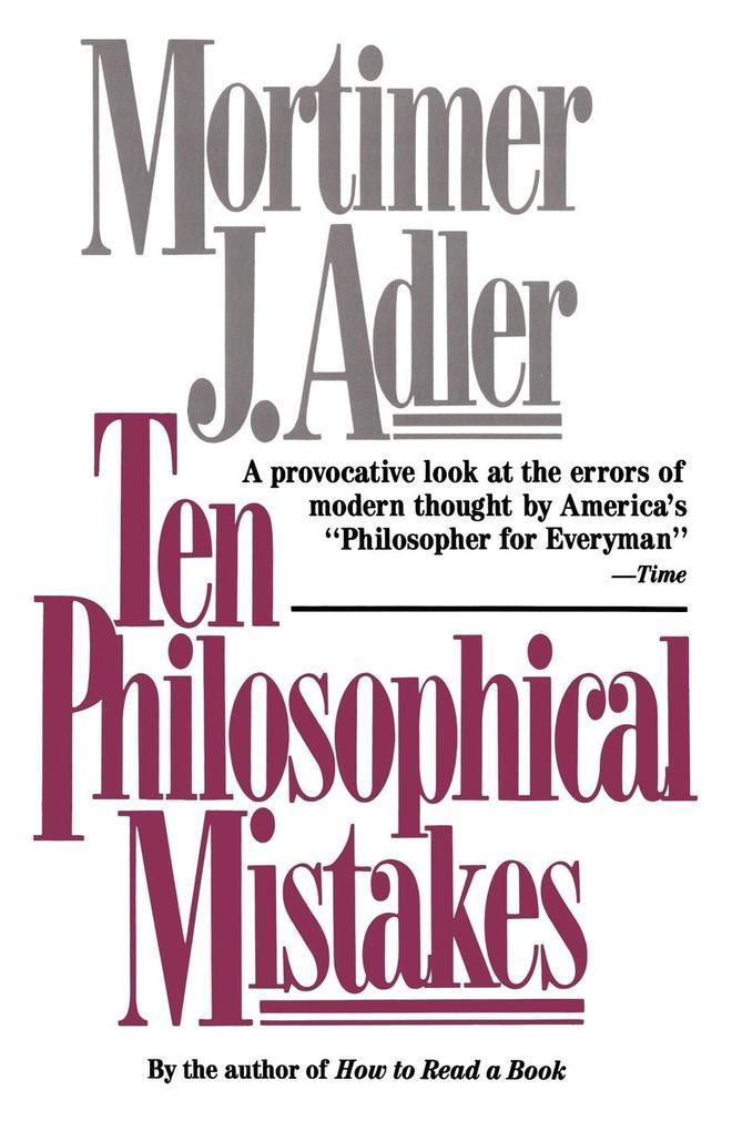 Ten Philosophical Mistakes als Taschenbuch