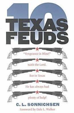 Ten Texas Feuds als Taschenbuch