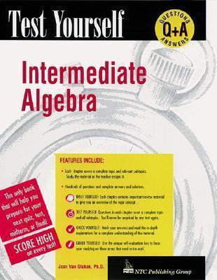 Test Yourself: Intermediate Algebra als Taschenbuch