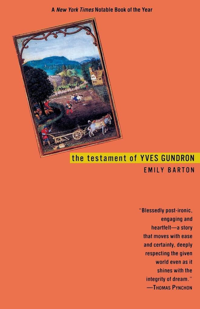 The Testament of Yves Gundron als Taschenbuch