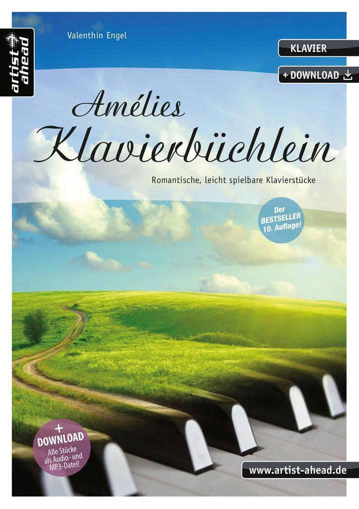 Amélies Klavierbüchlein als Buch (gebunden)