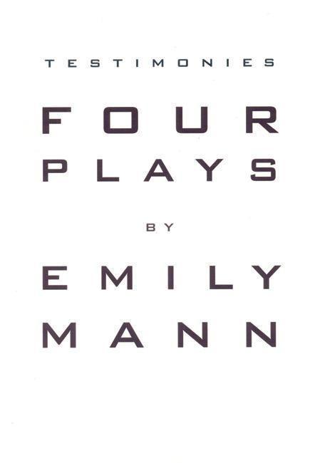 Testimonies: Four Plays als Taschenbuch