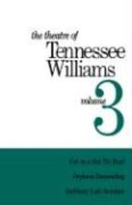 Theatre of Tennessee Williams Vol 3 als Buch