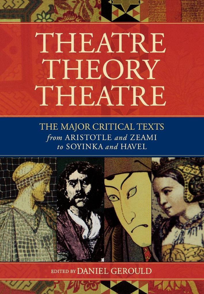 Theatre/Theory/Theatre als Buch