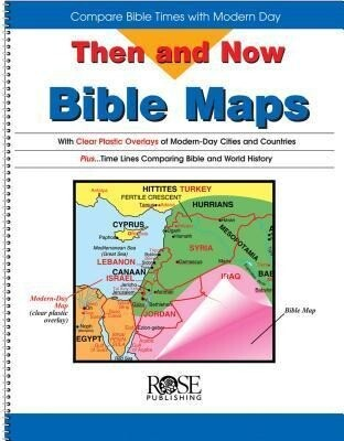Then and Now Bible Maps: Compare Bible Times with Modern Day als Buch