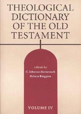 Theological Dictionary of the Old Testament, Volume IV als Buch