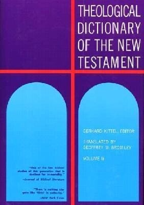 Theological Dictionary of the New Testament als Buch