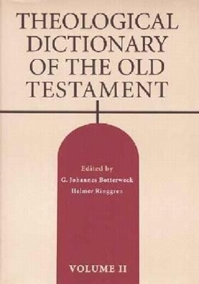 Theological Dictionary of the Old Testament als Buch
