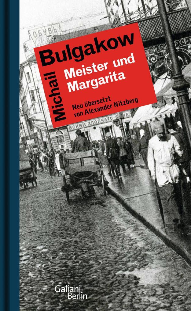 Meister und Margarita als Buch von Michail Bulgakow