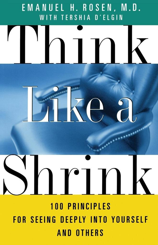 Think Like a Shrink als Taschenbuch