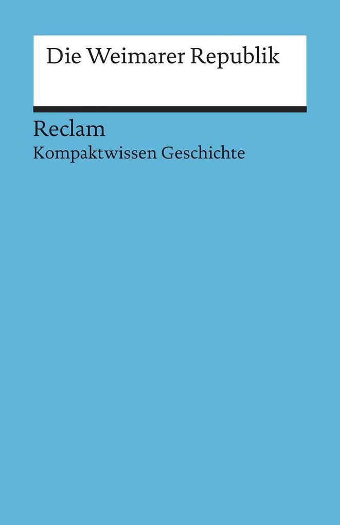 Weimarer Republik als Taschenbuch