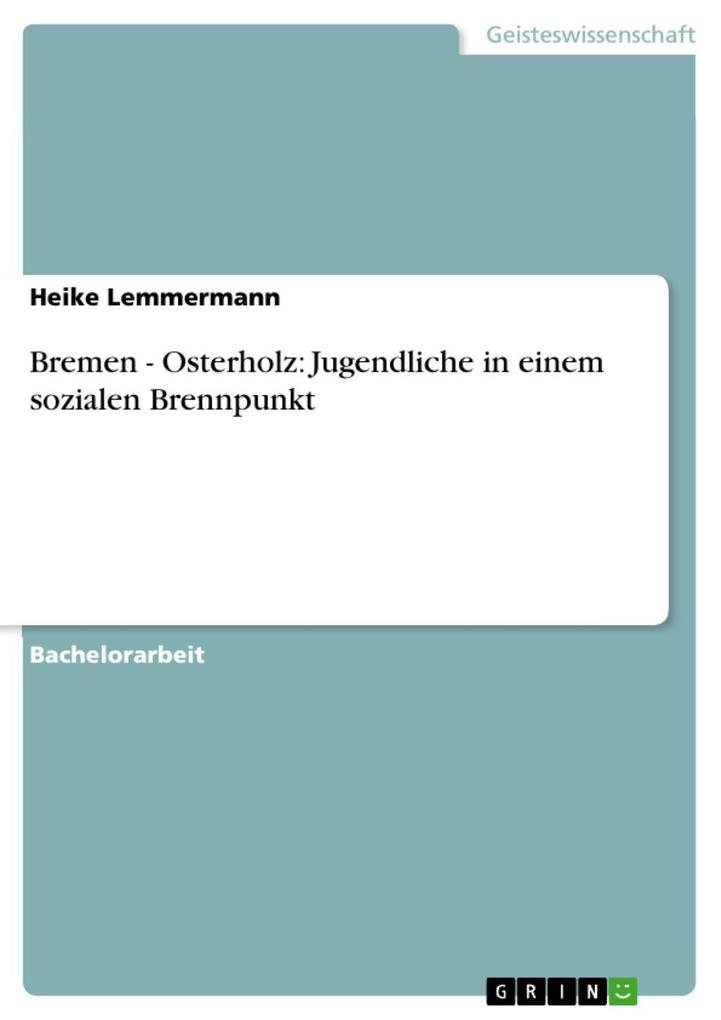 Bremen - Osterholz: Jugendliche in einem sozial...