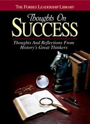 Thoughts on Success: Thoughts and Reflections from History's Great Thinkers als Taschenbuch