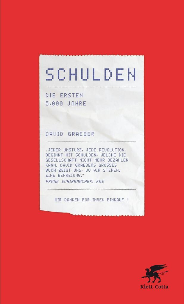 Schulden als eBook von David Graeber