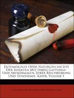 Entomologie Oder Naturgeschichte Der Insekten M...