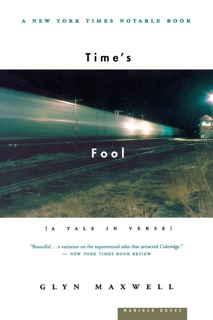 Time's Fool: A Tale in Verse als Taschenbuch