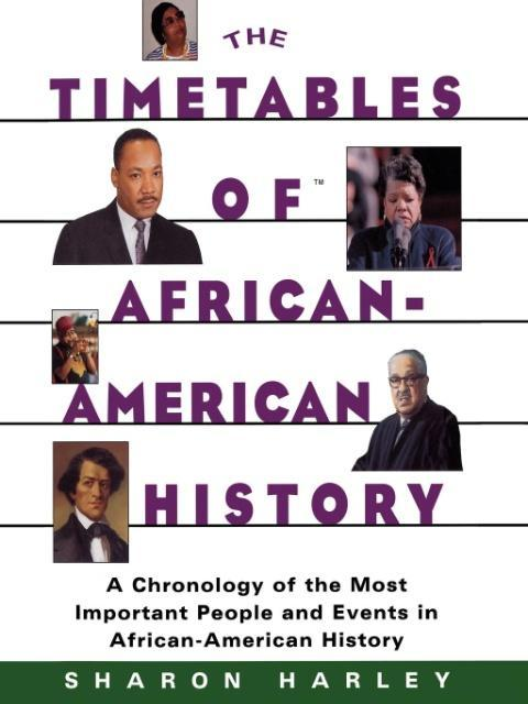 The Timetables of African-American History als Taschenbuch
