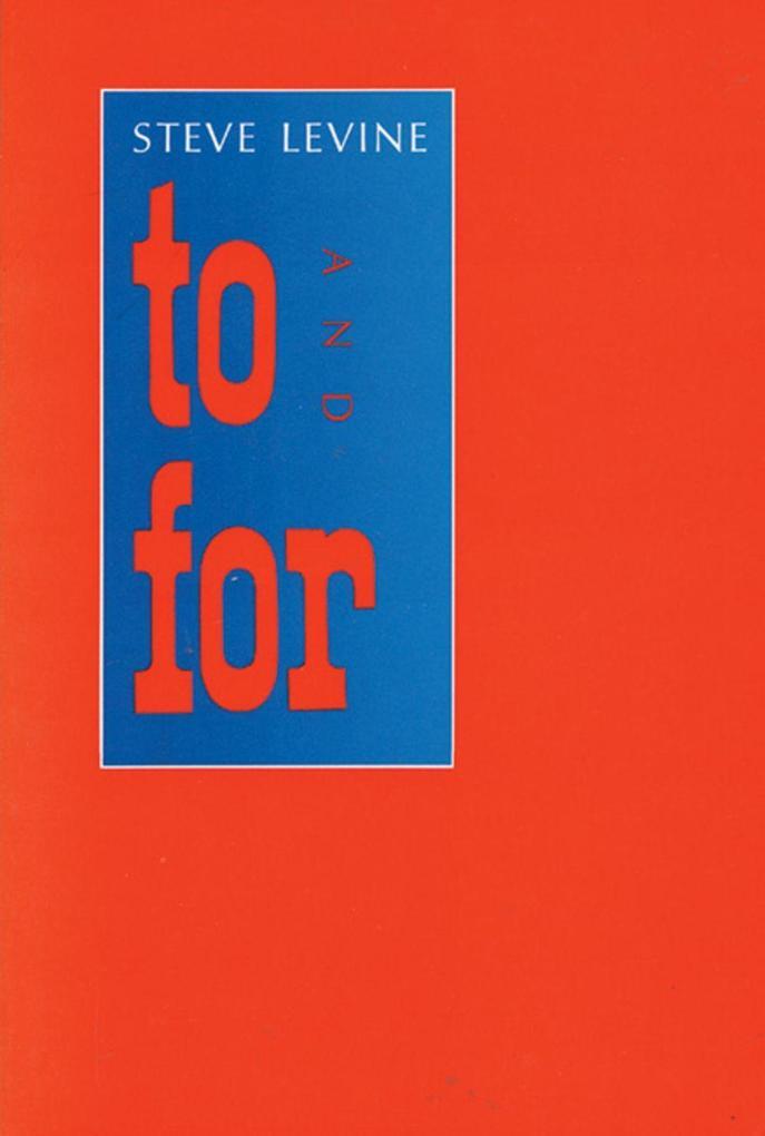 To and for als Taschenbuch