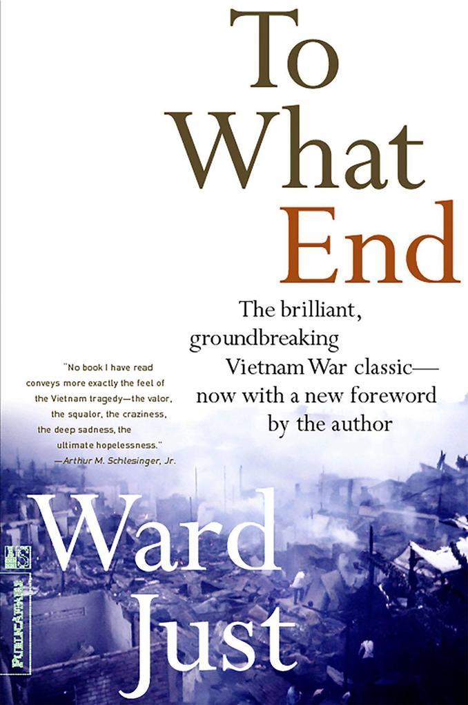 To What End? als Taschenbuch