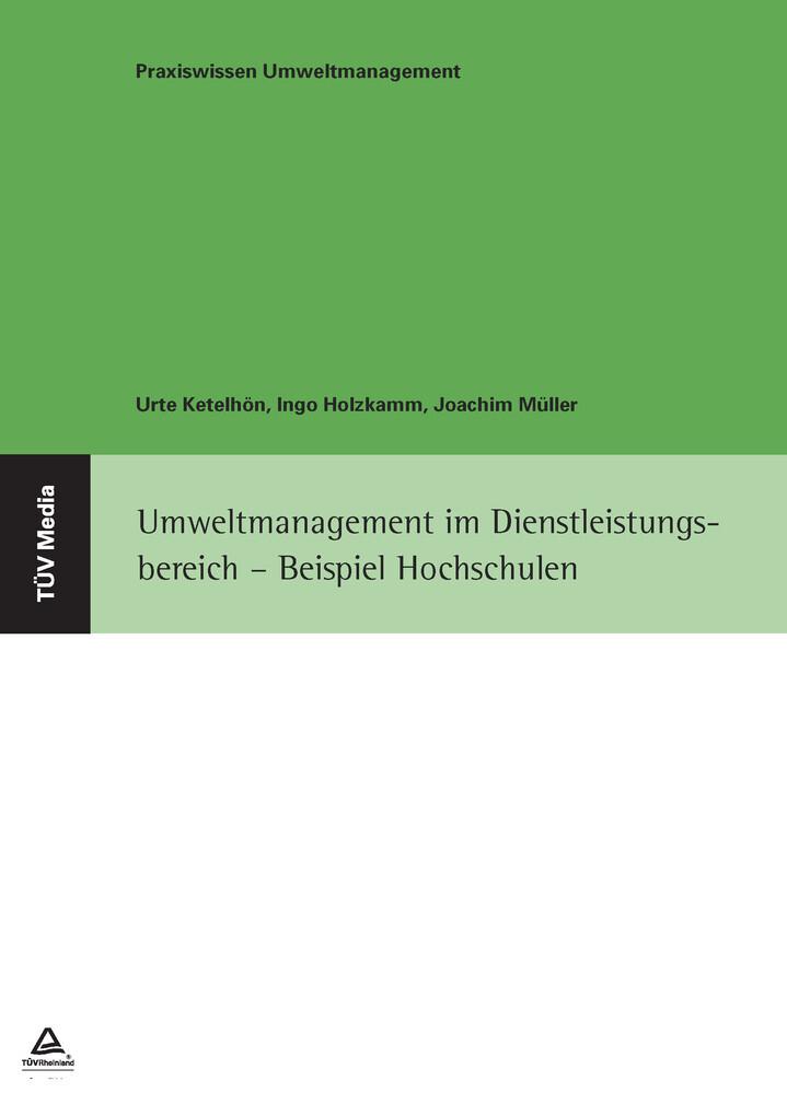 Umweltmanagement im Dienstleistungsbereich - Beispiel Hochschulen als eBook