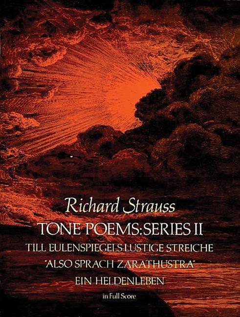Tone Poems in Full Score, Series II: Till Eulenspiegels Lustige Streiche, Also Sprach Zarathustra and Ein Heldenleben als Taschenbuch