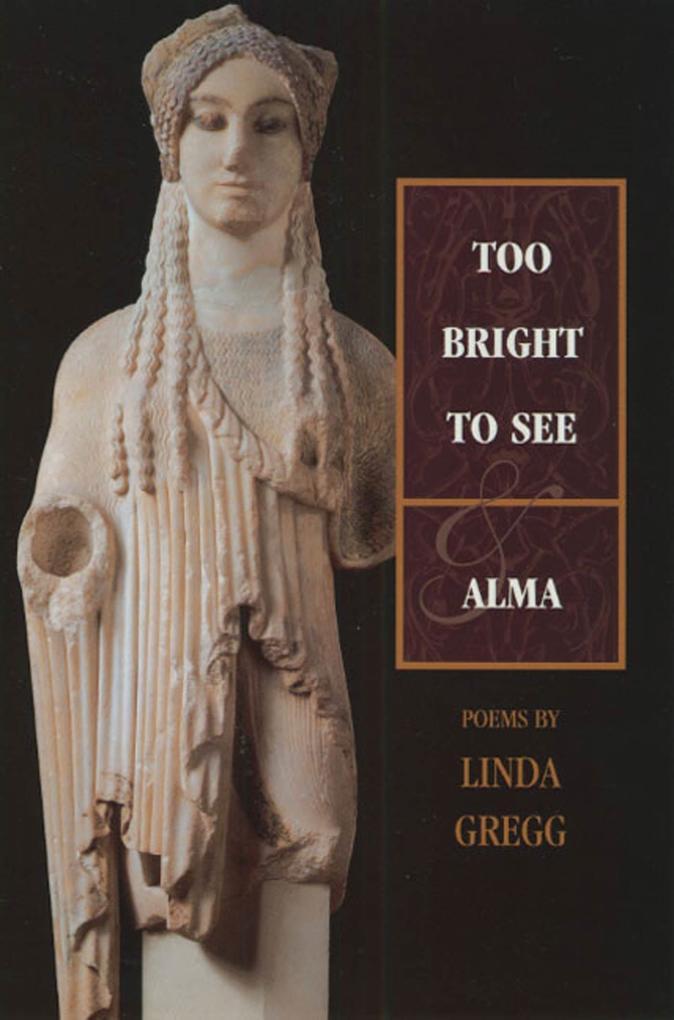 Too Bright to See & Alma als Taschenbuch