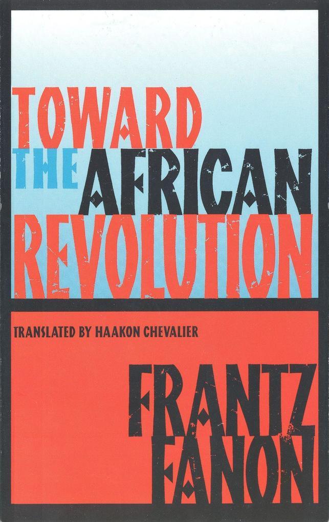 Toward the African Revolution als Taschenbuch
