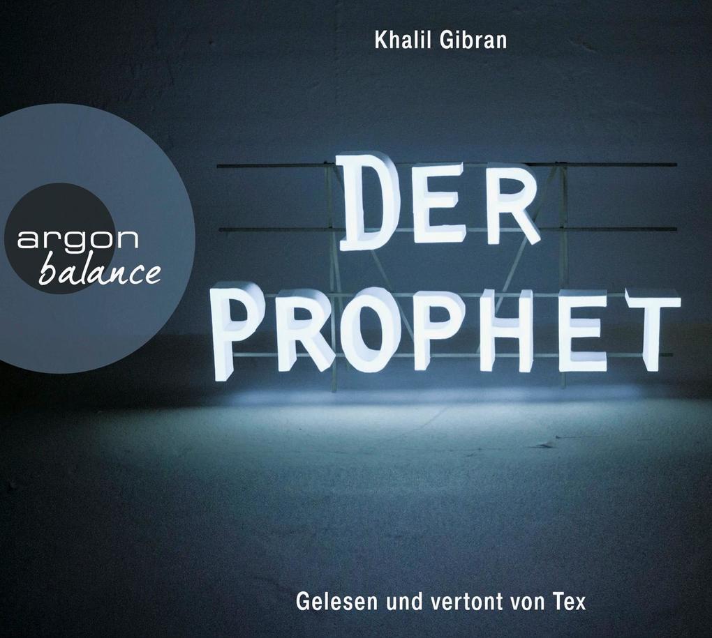 Der Prophet als Hörbuch