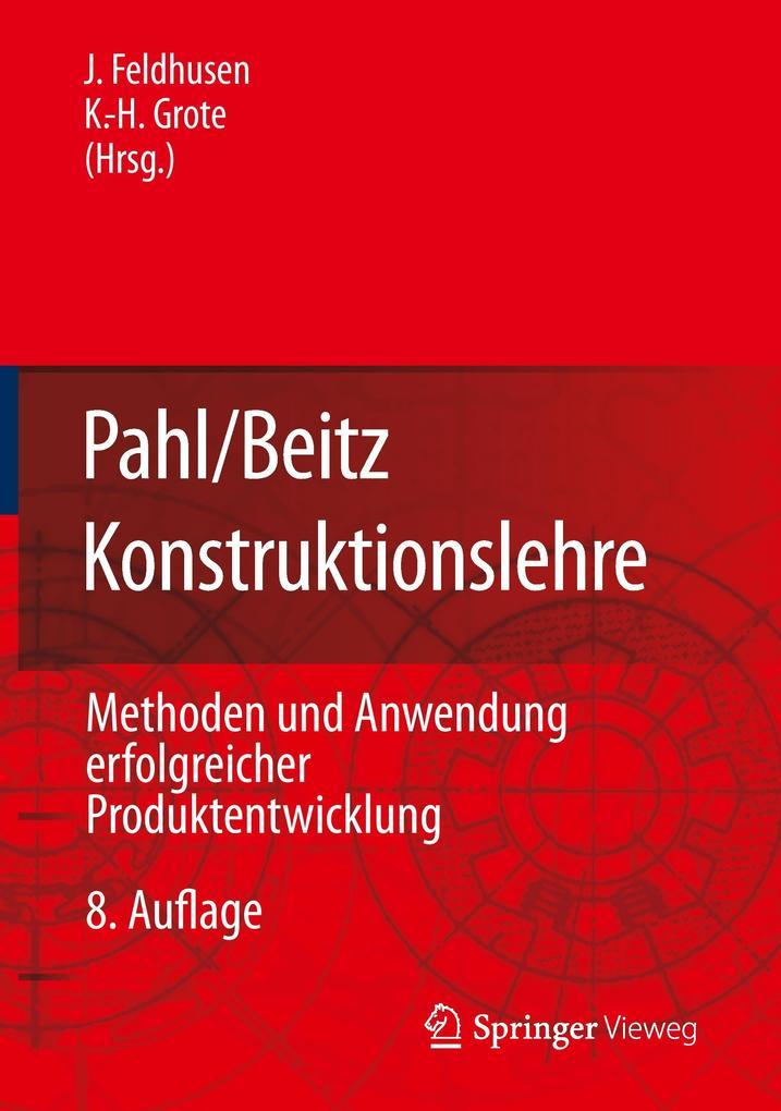 Pahl/Beitz Konstruktionslehre als Buch von