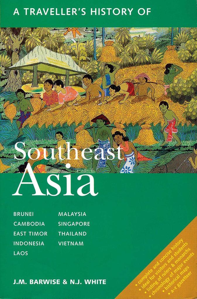 A Traveller's History of Southeast Asia als Taschenbuch