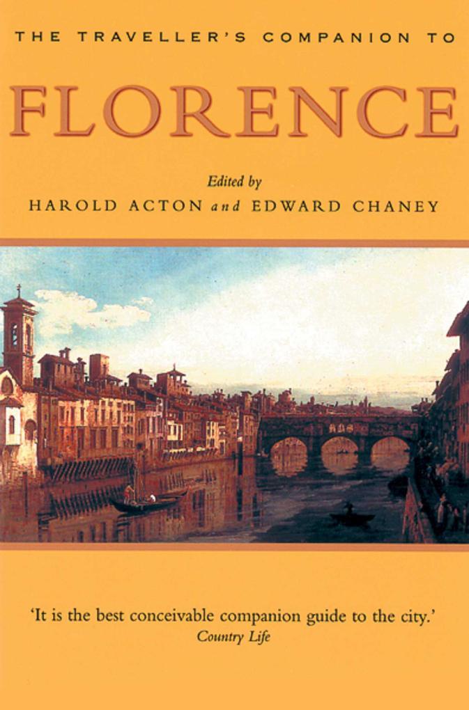 A Traveller's Companion to Florence als Taschenbuch