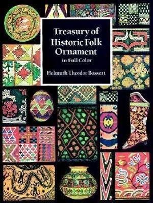 Treasury of Historic Folk Ornament in Full Color als Taschenbuch