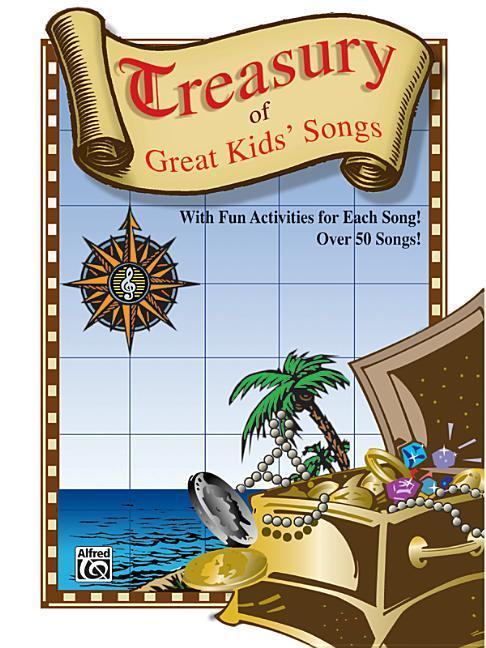 Treasury of Great Kids' Songs: Vocal/Piano als Taschenbuch